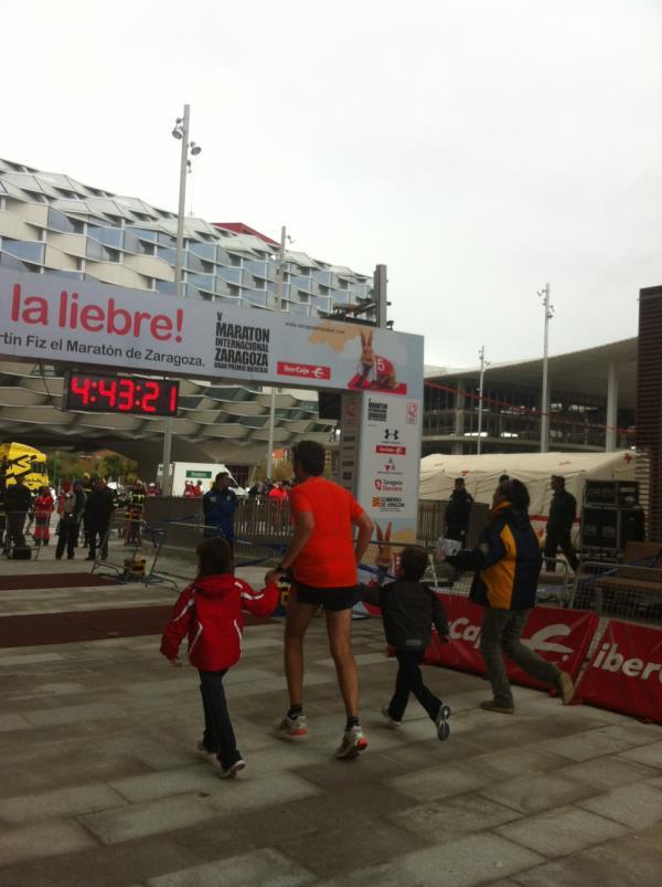 Maratón terminado (sin palabras)