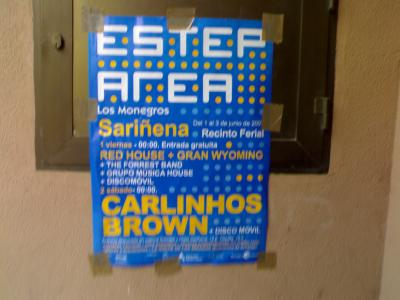 Esteparea. Foro y festival en los Monegros este fin de semana. Incluye Carlinhos Brown.