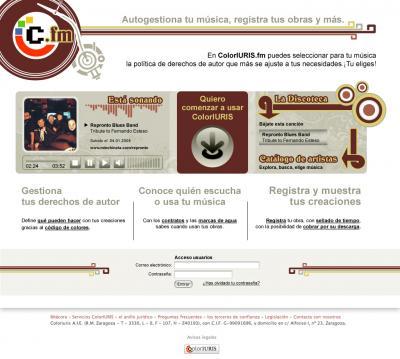 ColorIURIS.fm : Nuevo portal para registrar y descargar música