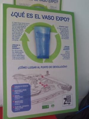 Reutilizar es mejor incluso que reciclar. La EXPO predicando con el ejemplo.