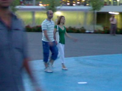 ¿Es Luis Tosar este que paseaba ayer por la EXPO?