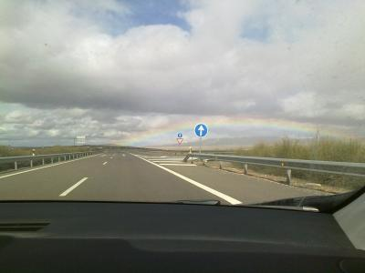 Me gusta conducir (hacia el arcoiris)