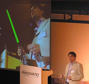 Blogcasting Innovate Europe, desde Zaragoza: Dia 1, Mañana.
