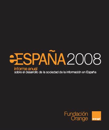 Informe eEspaña 2008