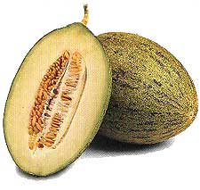 Melones abiertos
