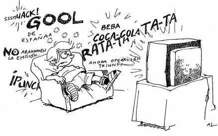 Televisión, más color.... más por favor....